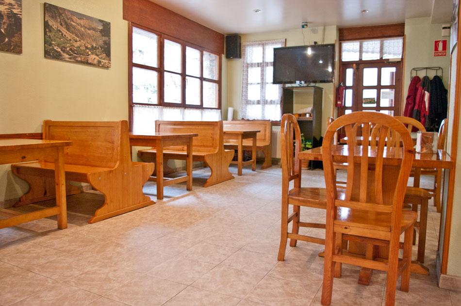 Cafetería - Hostal Marboré